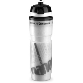 Elite Nanogelite Thermo Bottle Bike bottle white/grey